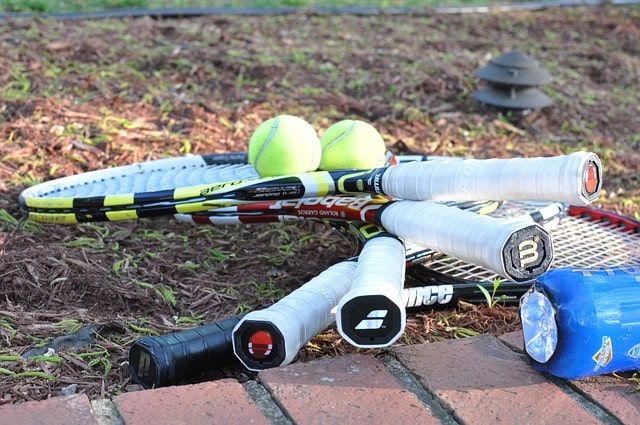 four rackets