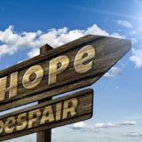 signboard of HOPE
